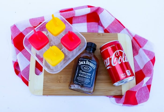 Jack and Coke Ice Pops