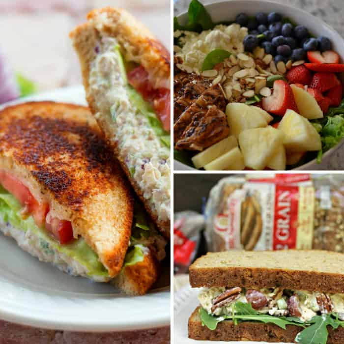 chicken sandwich and salad recipes