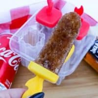 Jack and Coke Frozen Ice Pop