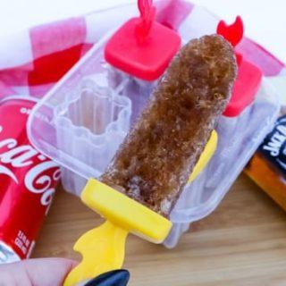 Jack and Coke Frozen Ice Pop