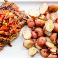 One-Pot Instant Pot Swiss Steak and Potatoes Recipe