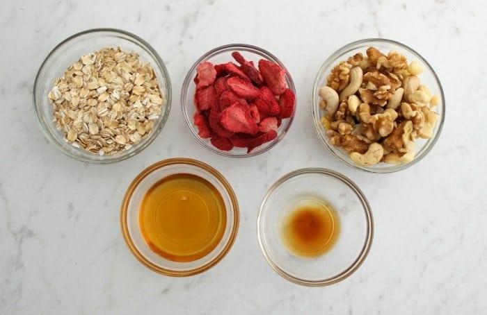 Skinny Strawberry Shortcake Bites Recipe -Vegan and Gluten-Free