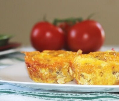 Protein Packed Sausage And Egg Omelets In Muffin Tins – 5 Freestyle Weight Watcher Points