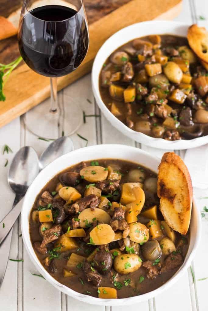 Instant Pot Soup Recipes - Lamb Stew Provencal