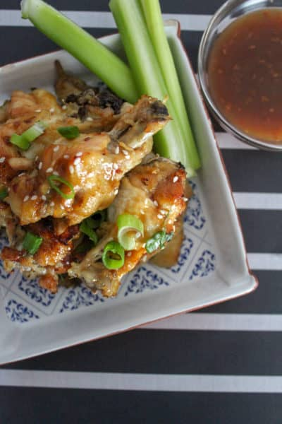 Easy Instant Pot Sesame Chicken Wings Recipe