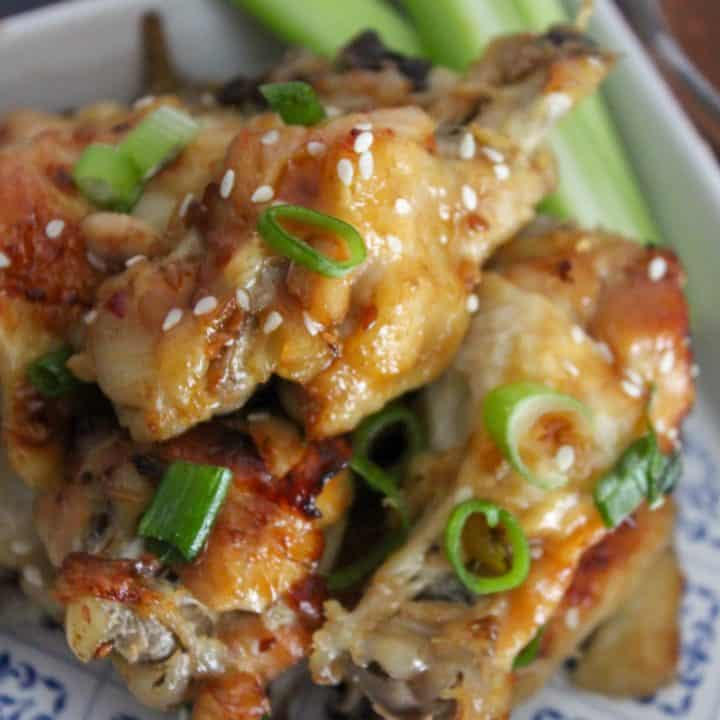 chicken wings with sesame seeds - Copy