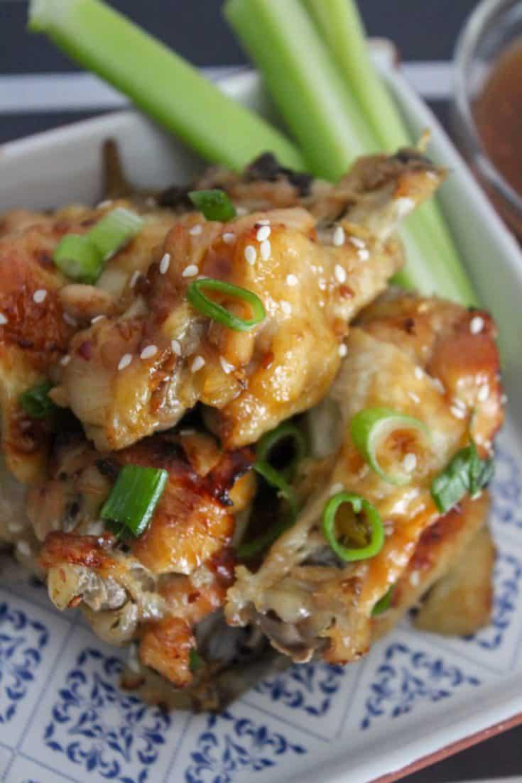 easy instant pot sesame chicken wings recipe