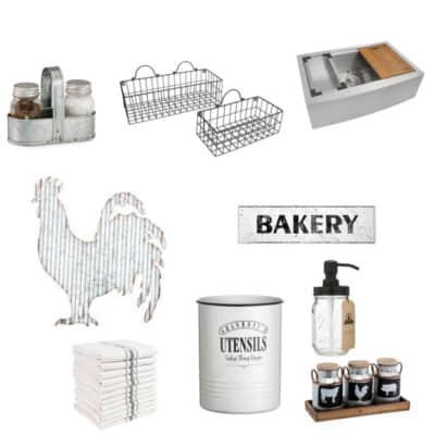 how to decorate your kitchen with farmhouse style