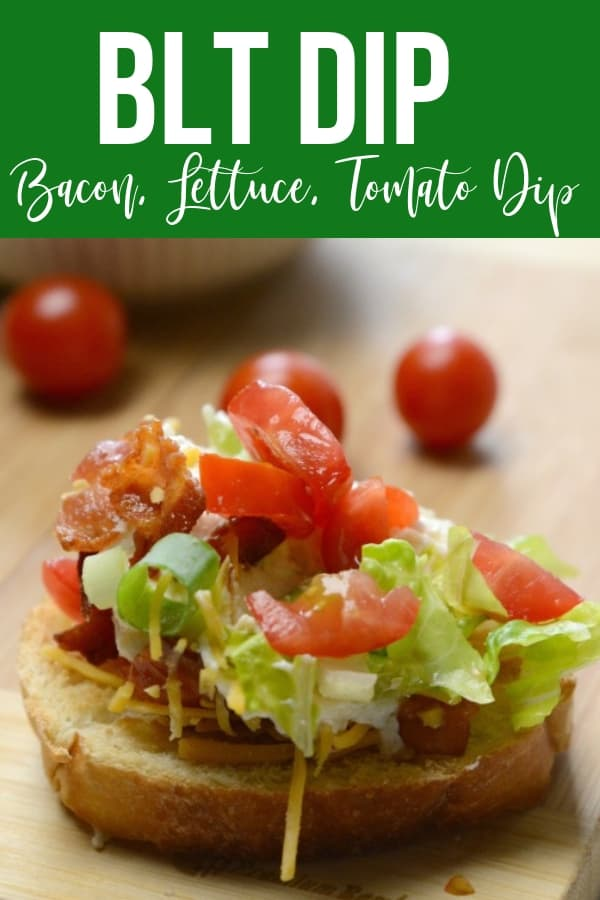 how to make BLT dip