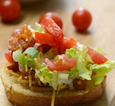 BLT Dip Recipe | Bacon, Lettuce, Tomato Dip With Video