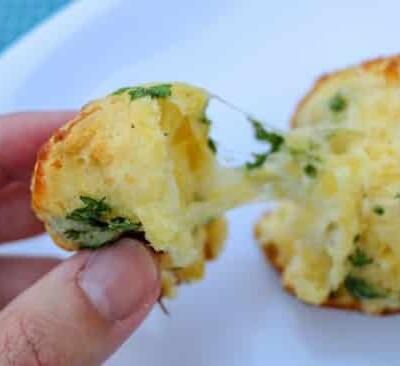 garlic parsley pull apart rolls