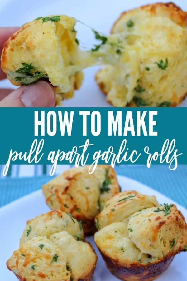 how to make Pull Apart Garlic Rolls