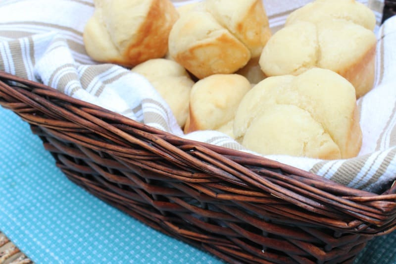 yeast 60 minute dinner rolls
