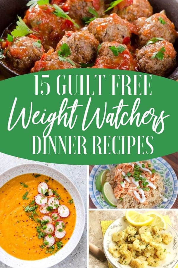 Easy Weight Watcher Dinner Recipes