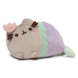 Pusheen the Cat Mermaid with Clam