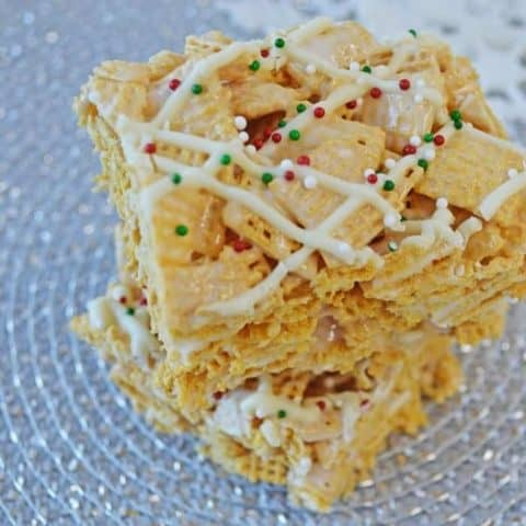 White Chocolate Chex Squares
