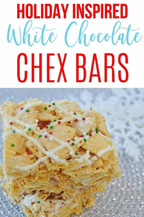 holiday chex bars