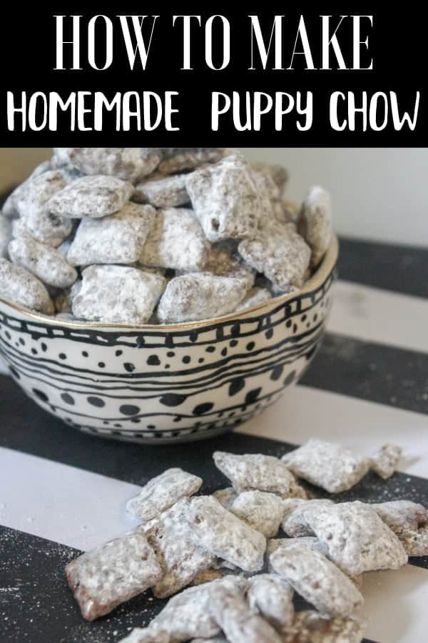How To Make Homemade Puppy Chow
