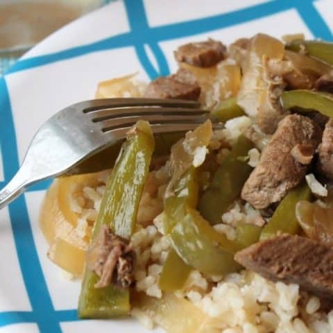 pepper steak without tomatoes