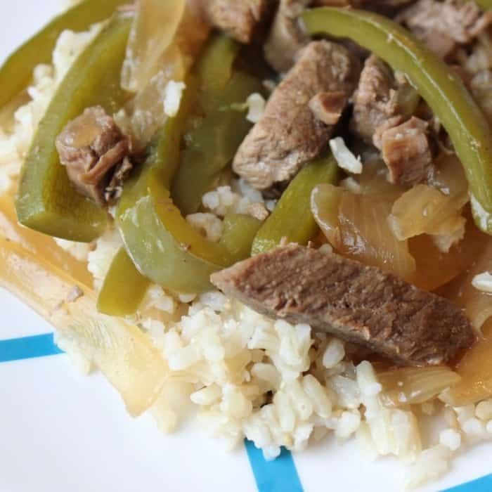 slow cooker pepper steak without tomatoes