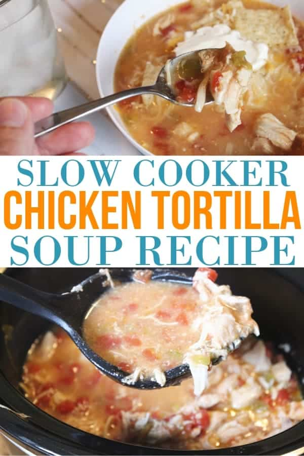 easy slow cooker chicken tortilla soup recipe (1)