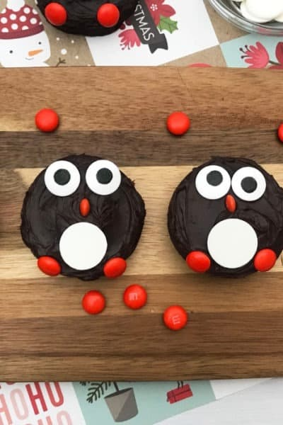 Penguin Brownies | Kid Friendly Christmas Treats