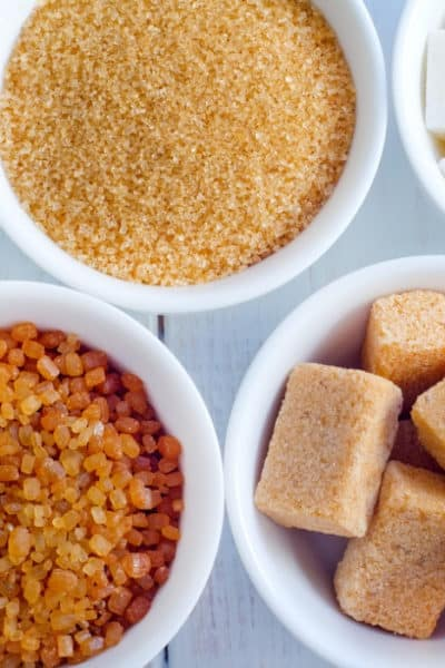 Most Common Types of Sugar And Common Questions On Uses