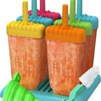 Ozera Reusable Popsicle Molds Ice Pop