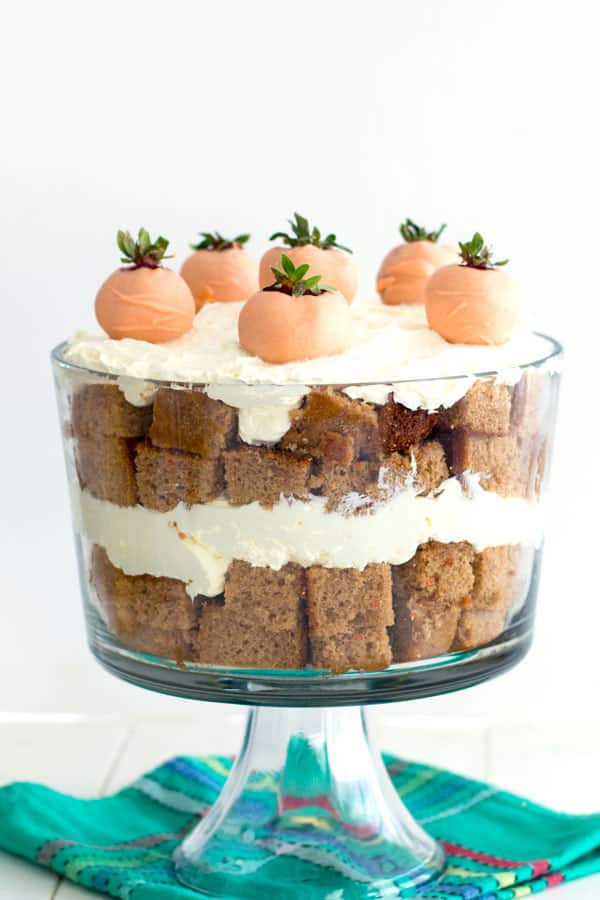 Carrot Cake Trifle Displayed