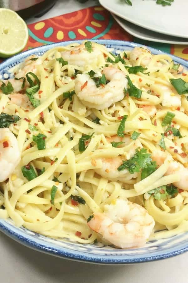easy shrimp scampi pasta recipe