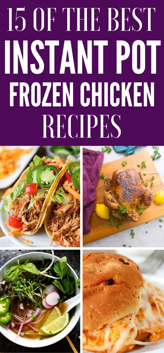 frozen chicken instant pot