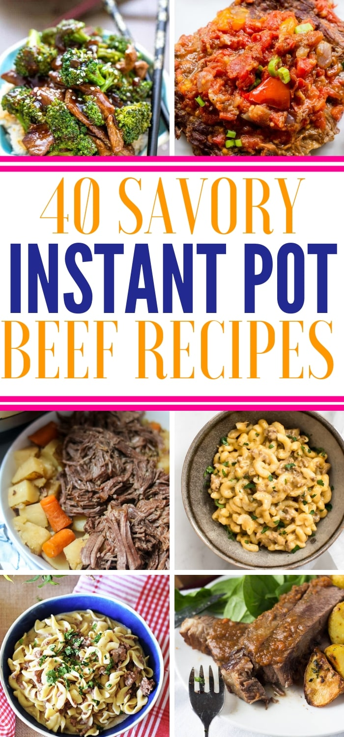 instant pot beef recipes all in one spot