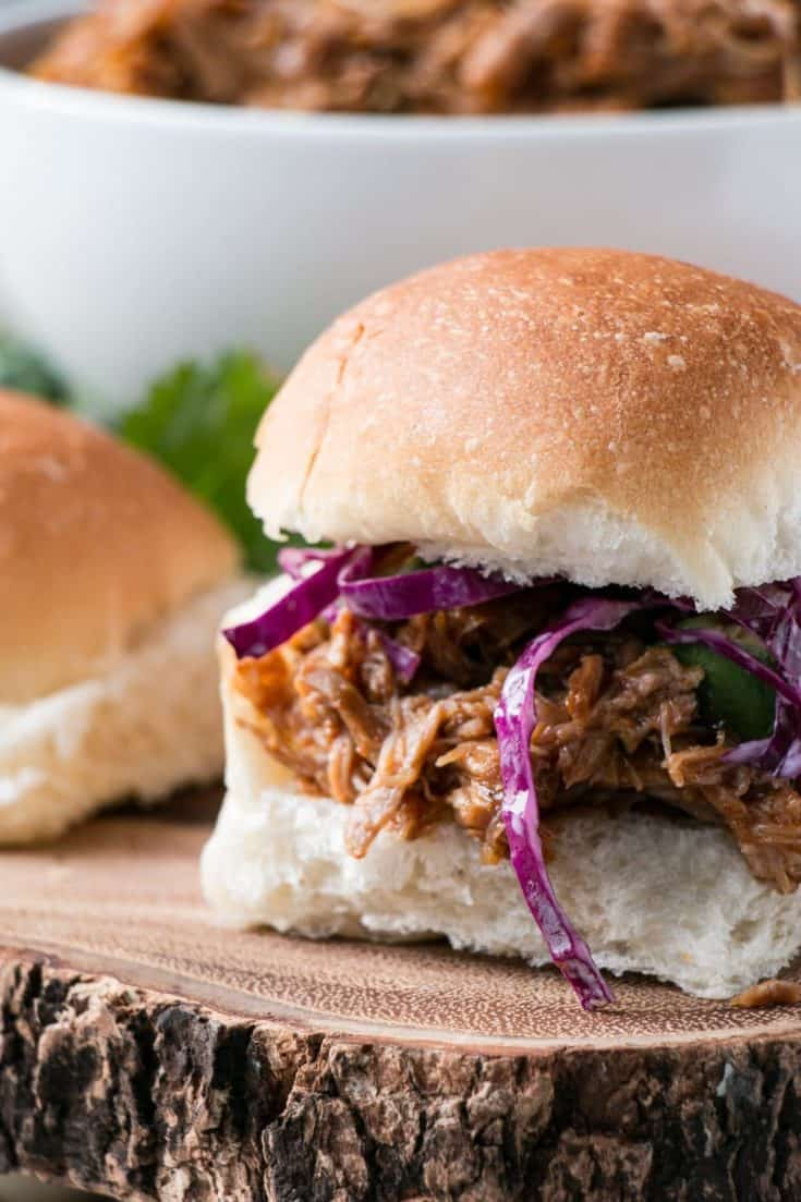 BEST BBQ Pulled Pork - Instant Pot and Slow Cooker Instructions