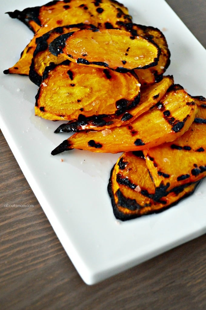 Grilled Golden Beets Recipe