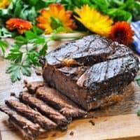 Balsamic Slow Cooker Roast Beef