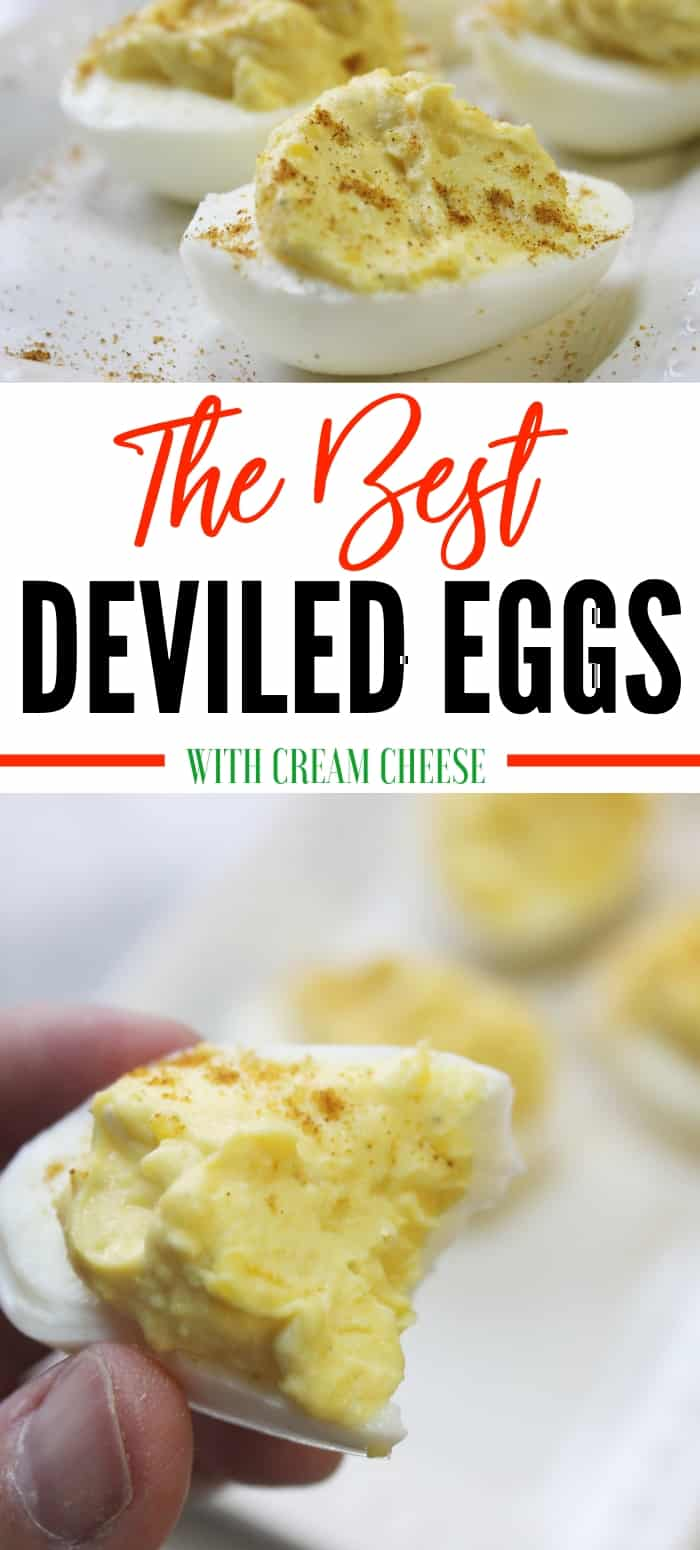 best deviled eggs with cream cheese