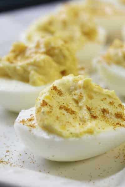 Best Deviled Eggs Made With Cream Cheese!