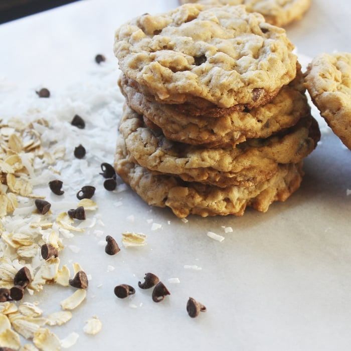 coconut chocolate chip cookie recipe
