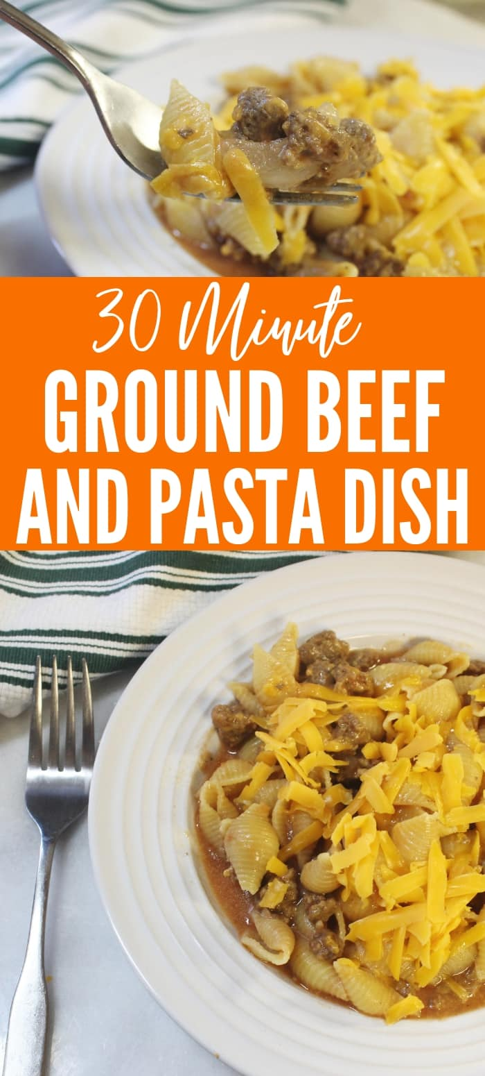 ground beef and pasta