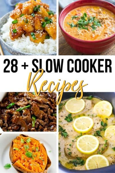 28+ Of The Best Slow Cooker Dinner Recipes