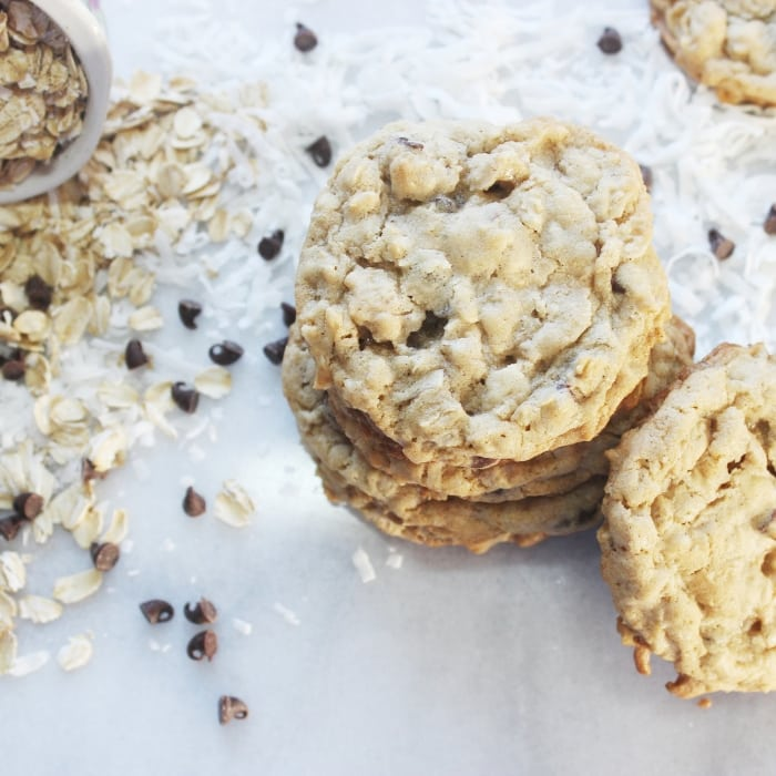 the best oatmeal coconut cookies