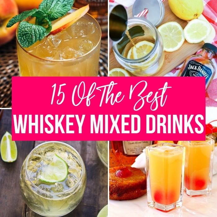 whiskey mixed drinks