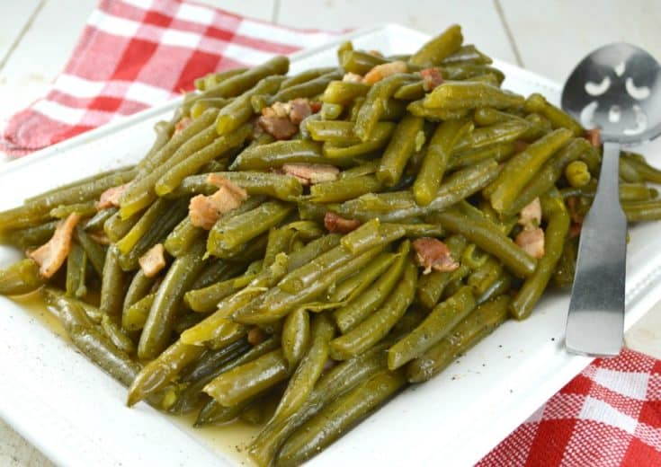 Southern Style Green Beans