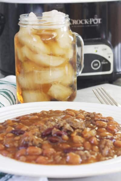 Slow Cooker Cowboy Beans Recipe With Video