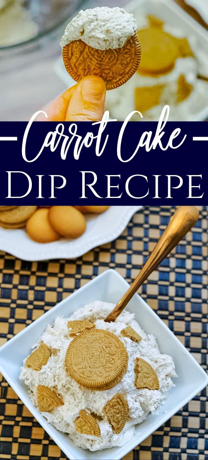 easy carrot cake dip