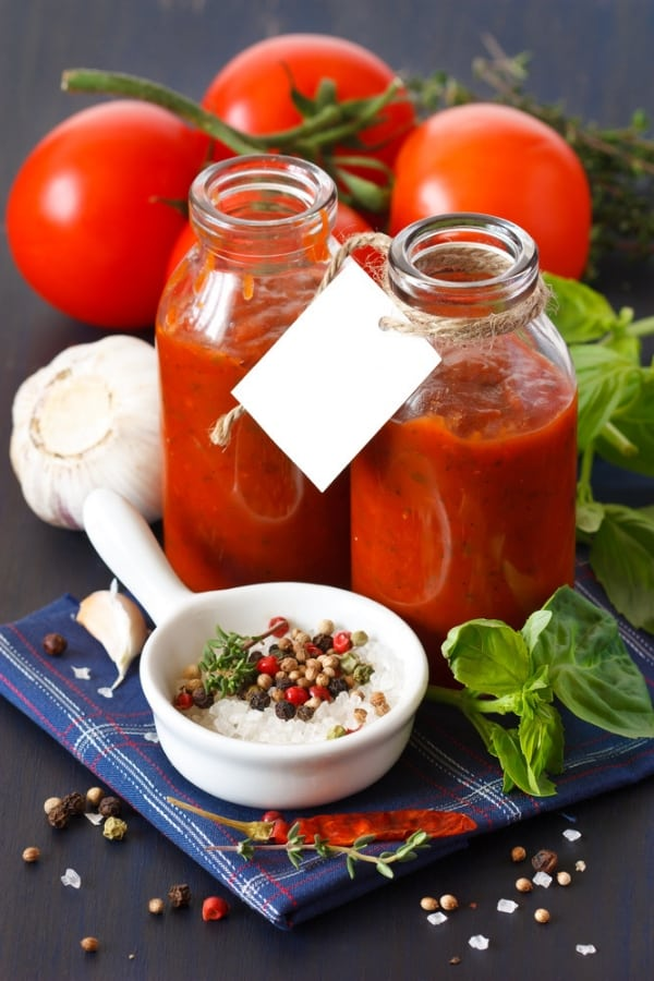 jarred pasta sauce
