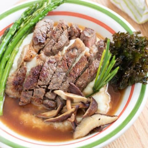 keto steak bowl recipe