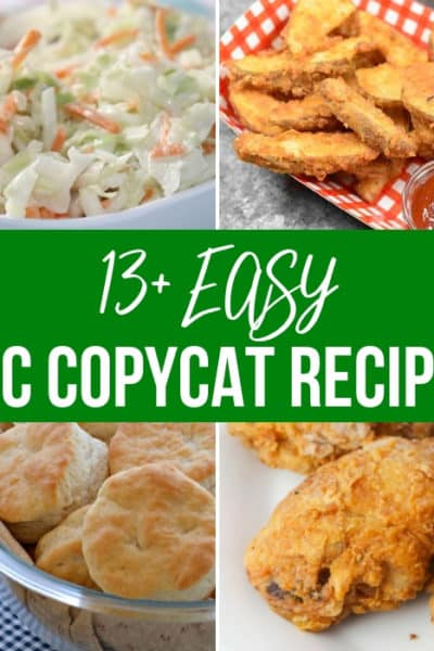 13 KFC Copycat Recipes To Make At Home