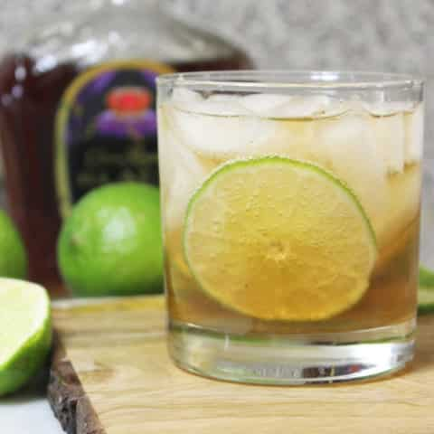 whiskey and ginger