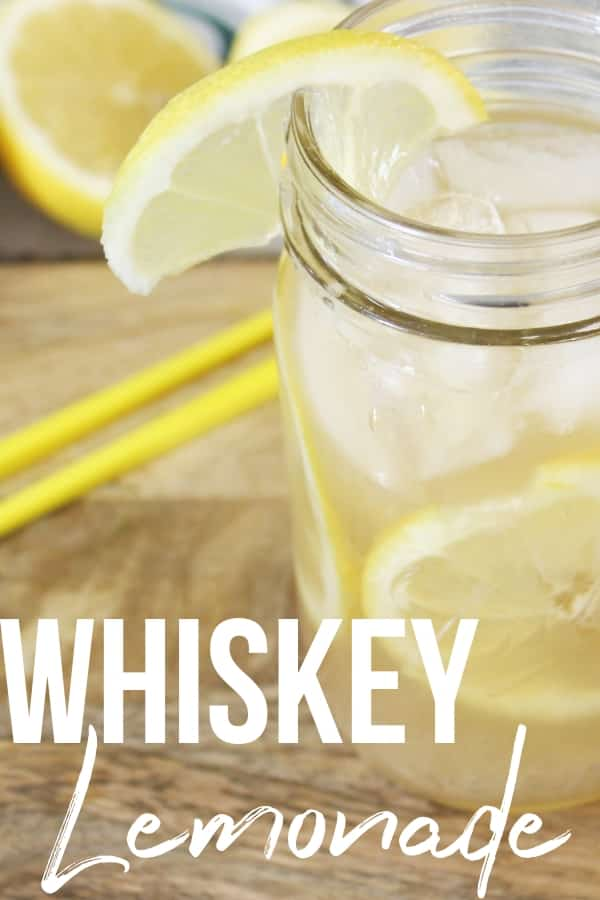 how to make whiskey lemonade